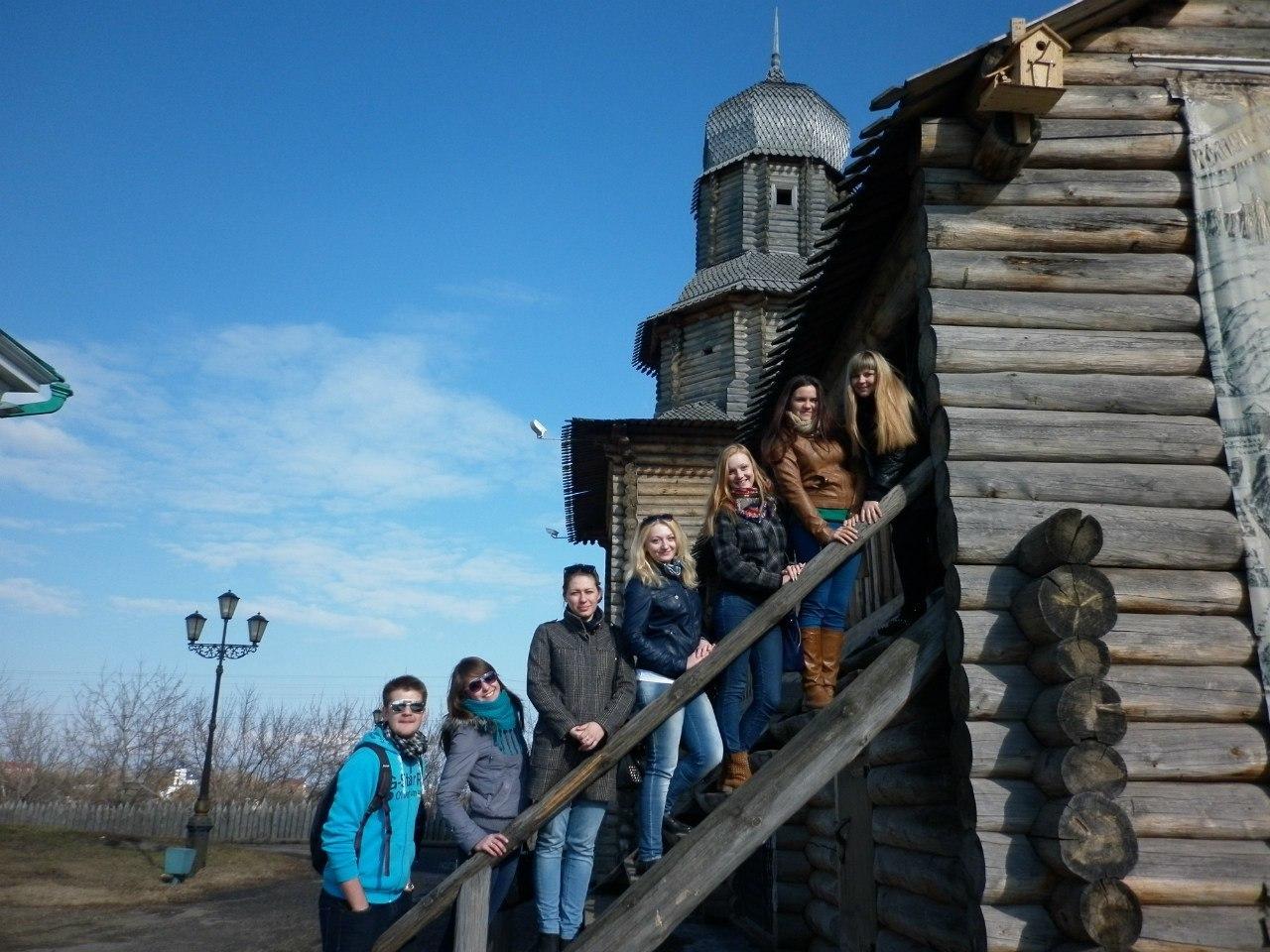С17 по24 апреля ТУСУР посетила делегация из7 студентов социально-психологического факультета Кемеровского государственного университета