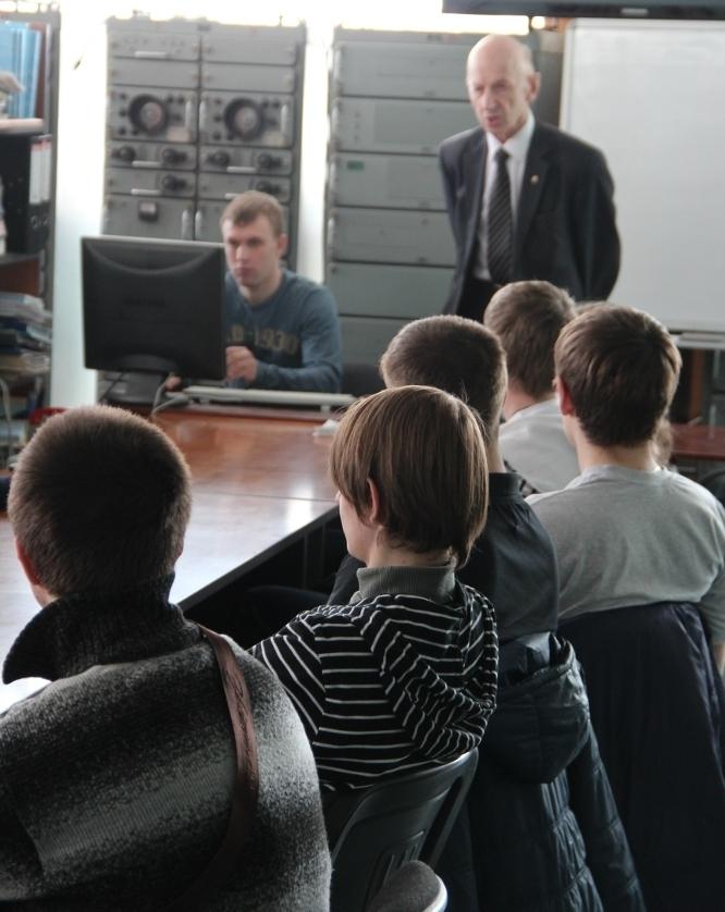 13апреля накафедре РТСпрошёл День открытых дверей
