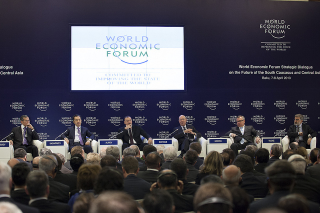Сотрудник Центра корпоративного развития Института инноватики ТУСУРа приняла участие воВсемирном экономическом форуме