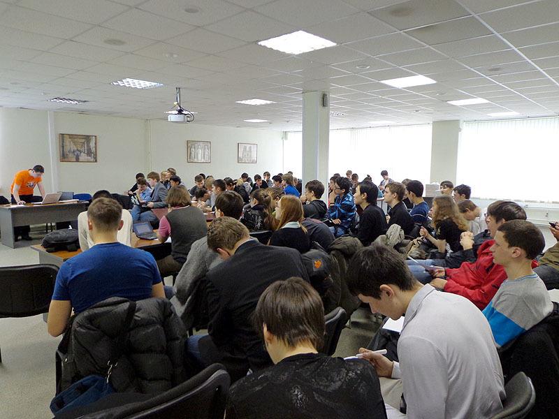 Набазе Центра международной IT-подготовки состоялся семинар, посвящённый современным средствам разработки длясистем Windows 8и Windows Phone