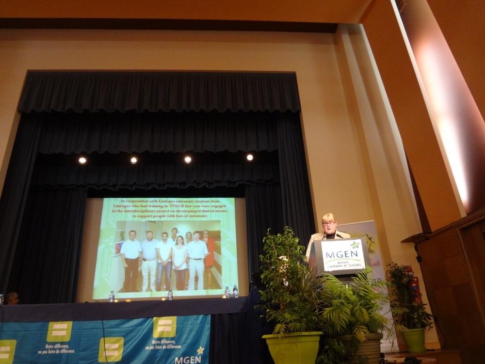 Учёные ТУСУРа выступили сдокладами намеждународной конференции LivInWell-2013 воФранции