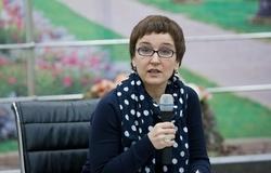 Руководитель Центра корпоративного развития Института инноватики ТУСУРа Лиана Кобзева выступила модератором телемоста наXII Сибирском форуме образования