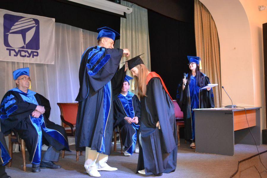 9июня прошла торжественная церемония посвящения вспециалисты выпускников Института инноватики