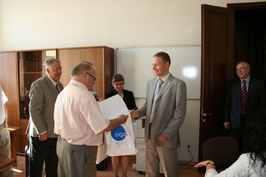 Сотрудники ивыпускники Института инноватики ТУСУР стали сертифицированными специалистами NQA-Russia