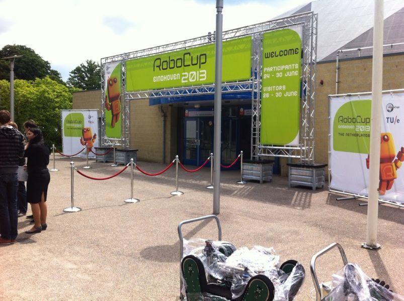 Команда ТУСУРа приняла участие вмировом финале робототехнических соревнований RoboCup 2013