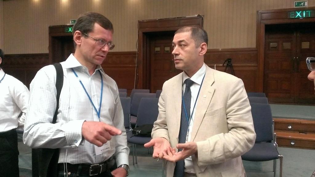 Александр Уваров и Константин Фокин