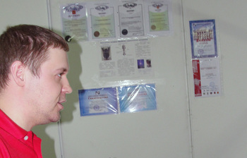 М.н.с. кафедры физики Ю. Г.Юшков вошел вчисло победителей Всероссийского конкурса уникальных молодежных инновационных работ «КУМИР»