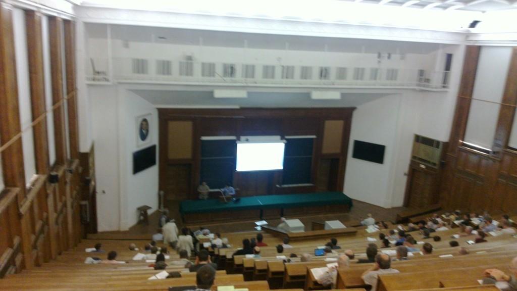 Аспирант кафедры РЭТЭМ В.С.Солдаткин принял участие вIX Всероссийской конференции «Нитриды галлия, индия иалюминия – структуры иприборы»