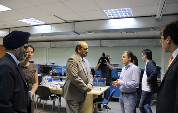 МСБИ «Дружба» посетил посол Индии вРоссийской Федерации