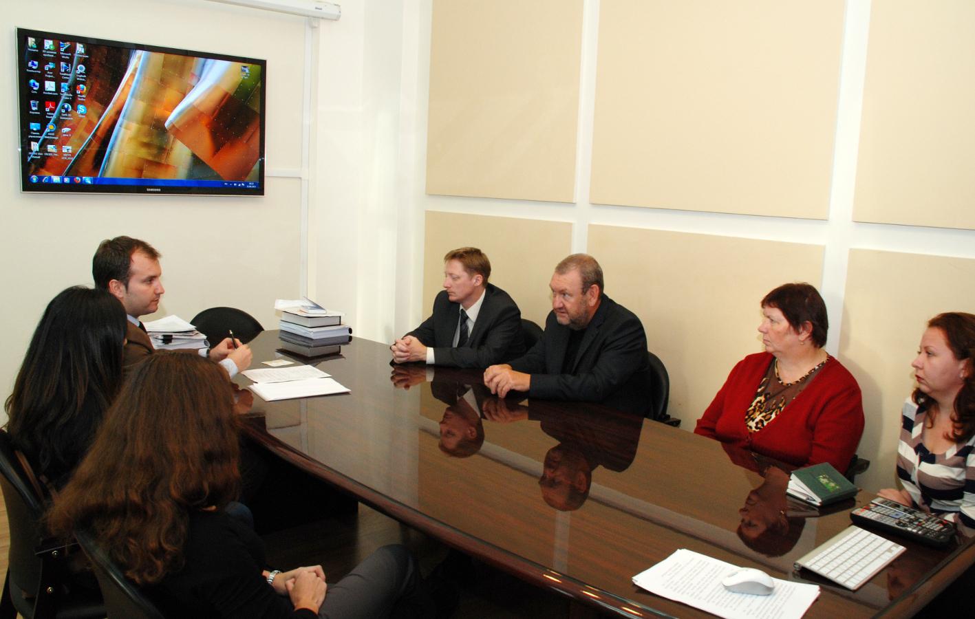 ИСИБ ТУСУР посетил генеральный директор французской компании, занимающейся консалтингом ипредоставлением IT-инструментов длябизнеса