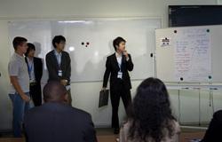 Врамках IIIМежуниверситетского технологического диалога состоялась деловая игра между студентами ТУСУРа иуниверситета Рицумейкан