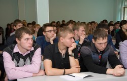 ВДень знаний кафедра КИБЭВС торжественно встретила своих первокурсников