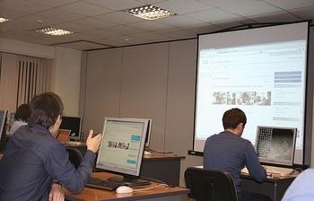 ВЦентре международной IT-подготовки приступили кзанятиям сразу триочные группы