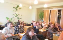 25октября, состоялось очередное занятие курсов повышения квалификации дляпреподавателей кафедры математики