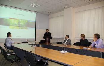 17октября вконференц-зале МСБИ «Дружба» состоялась презентация проекта «Разумный город»