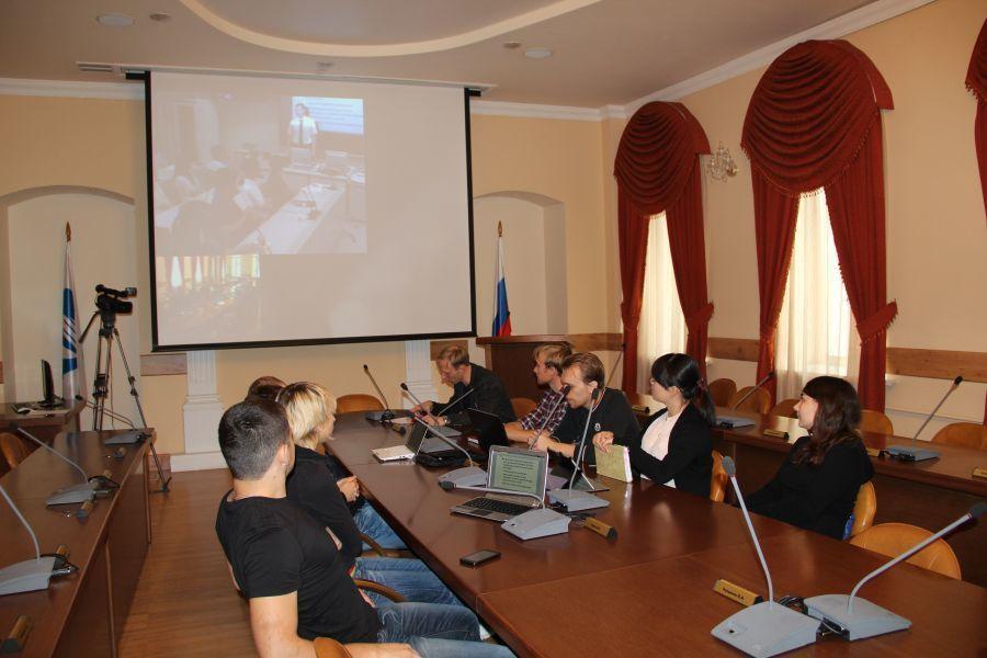 ВТУСУРе начались занятия совместного суниверситетом Рицумейкан курса Global Software Engineering