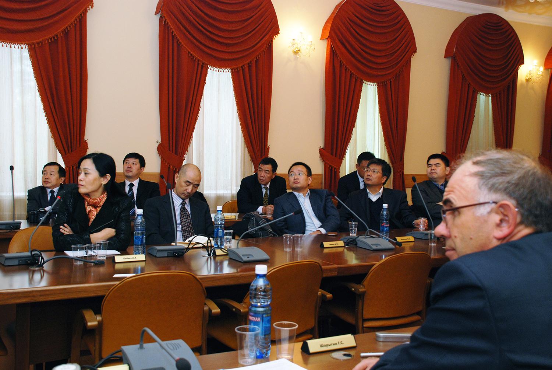 Вконце сентября ТУСУР посетила делегация Китайской Народной Республики
