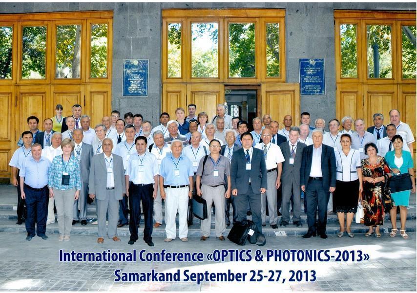 Аспирант кафедры СВЧиКР выступил сдокладом наII Международной конференции «Оптика ифотоника – 2013»