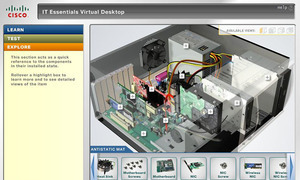 Сетевая академия Cisco ТУСУРа приглашает пройти обучение нановом курсе «IT-Essentials: аппаратное ипрограммное обеспечение персонального компьютера»