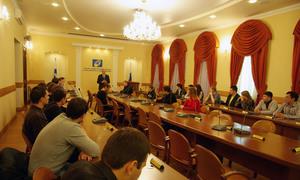 ВТУСУРе состоялось традиционное организационное собрание аспирантов первого года обучения, зачисленных порезультатам вступительных экзаменов в2013 году