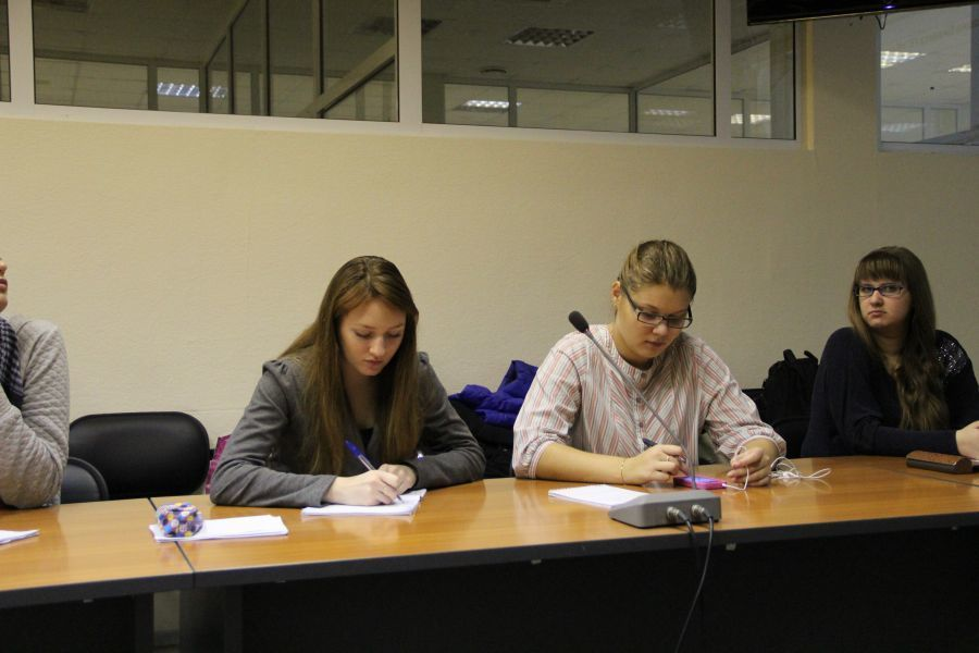 Директор компании «Контек-софт» Владимир Соснин прочёл лекцию студентам ФИТТУСУР
