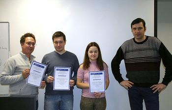 Состоялось вручение сертификатов выпускникам курсов Центра международной IT-подготовки ТУСУРа