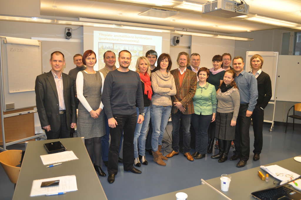 Сотрудник кафедры КИБЭВС С.В.Глухарева прошла стажировку вФинляндии понаправлению «Управление икооперация всистеме высшего образования»