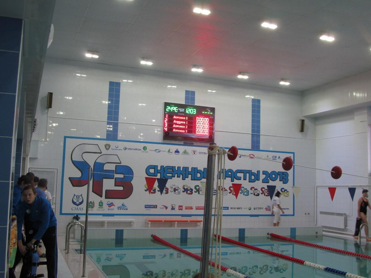Студенты ТУСУРа приняли участие вмеждународных соревнованиях «Снежные ласты»