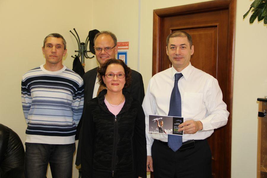Проректор поинновационному развитию имеждународной деятельности ТУСУРа встретился спредставителями Лаппеенрантского технологического университета