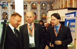 Дмитрий Ливанов отметил проекты ТУСУРа, представленные навыставке «ВУЗПРОМЭКСПО – 2013»