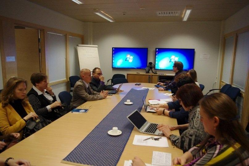 С2 по9 ноября делегация кафедры ИСРпосетила город Куопио (Восточная Финляндия)