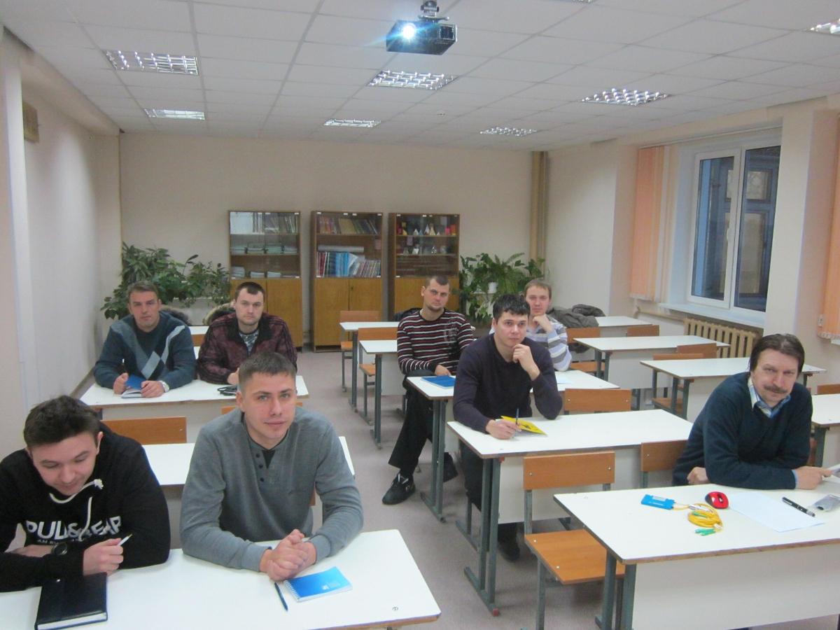 Специалисты фирмы «Приборсервис» прошли курсы повышения квалификации понаправлению «Волоконно-оптические линии связи» наФПК ТУСУР