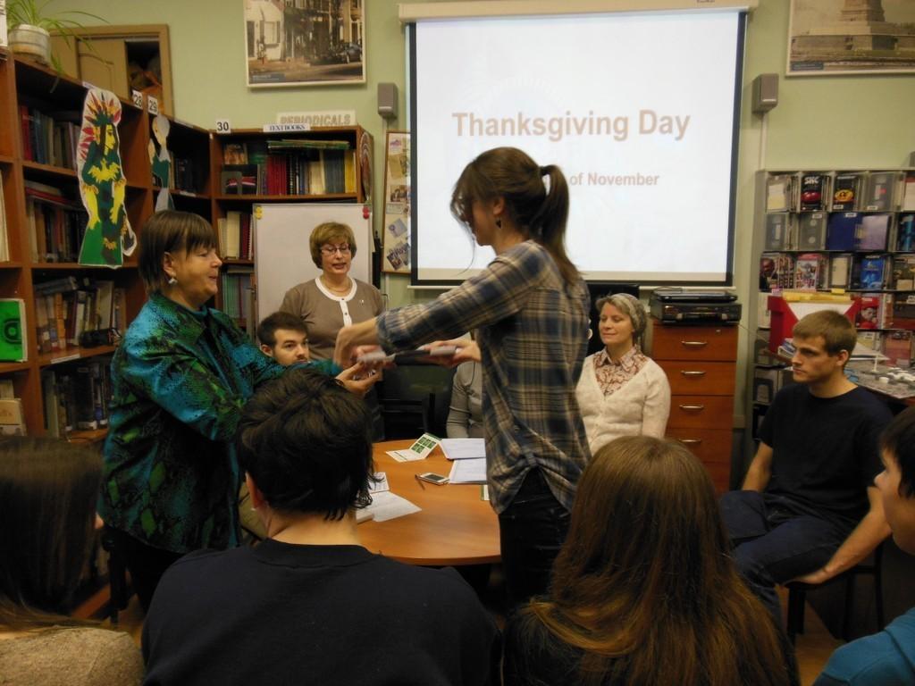 Накафедре иностранных языков состоялось подведение итогов второго тура конкурса сочинений наанглийском языке