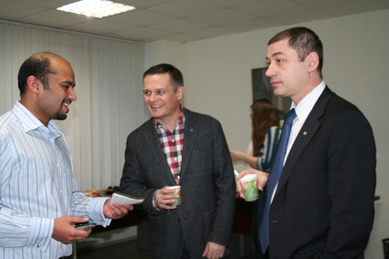 ВМСБИ «Дружба» состоялась открытая встреча сэкспертом изИндии