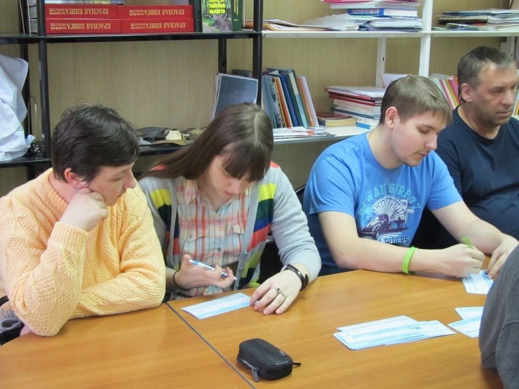 Втомском Дворце творчества детей имолодёжи состоялась встреча декана РКФсродителями абитуриентов