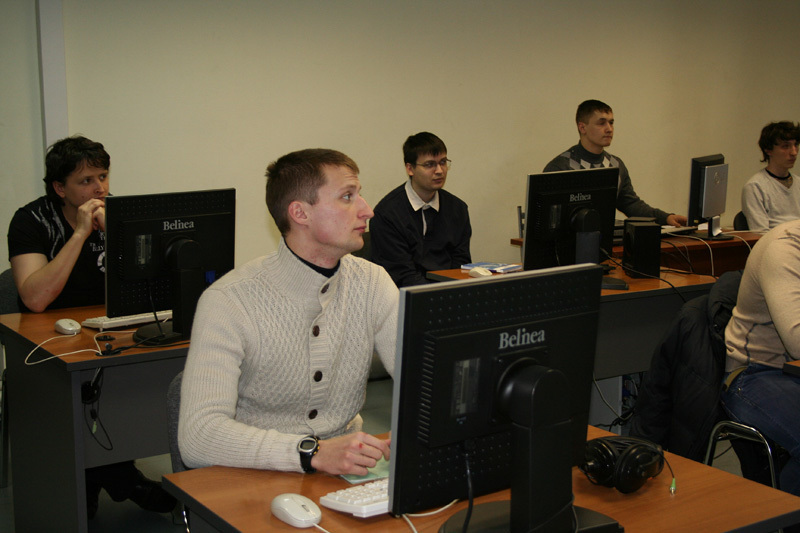 24февраля вЦентре международной IT-подготовки сразу двеочные группы приступили кзанятиям