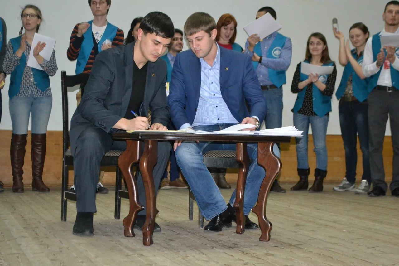 Студенты ТУСУРа стали членами Ассоциации тренеров студенческой молодёжи Российского союза молодёжи