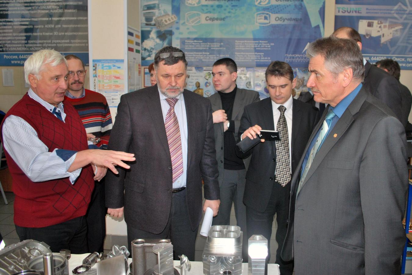 Сотрудник ЦКМЗ ТУСУР вошёл всостав томской делегации, посетившей Омскую область