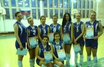 Сборная ТУСУРа стала серебряным призёром первенства Томской области поволейболу