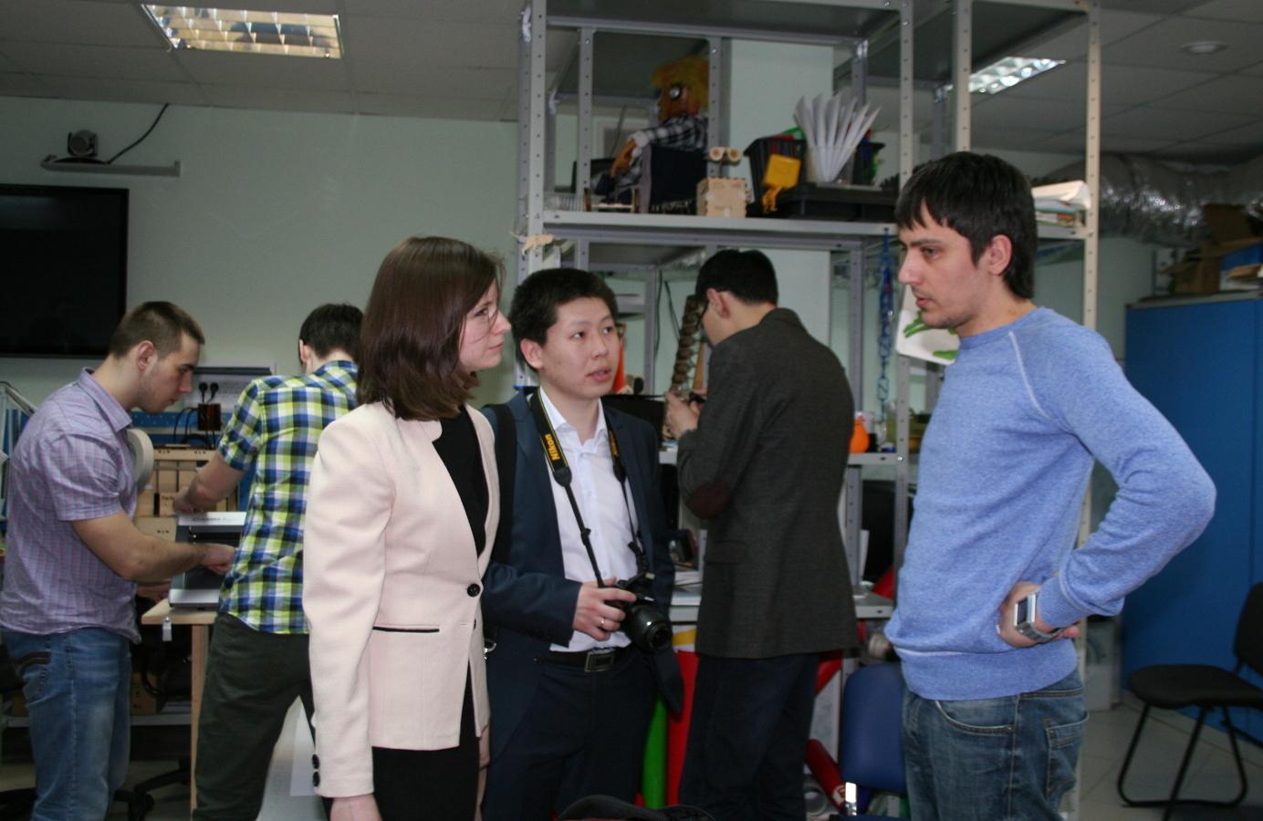 ВМСБИ «Дружба» состоялась лекция врамках курса «Применение концепции CDIO винженерном образовании»