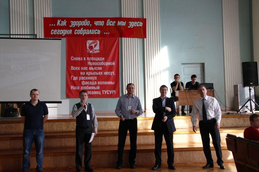 14марта вактовом зале главного корпуса ТУСУРа прошёл российский этап мирового кубка соревнований TheFreescale Cup