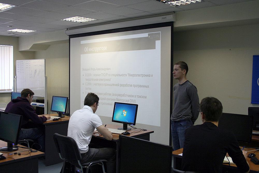 26апреля вЦентре международной IT-подготовки начались занятия покурсу «Разработка приложений наплатформе Android»