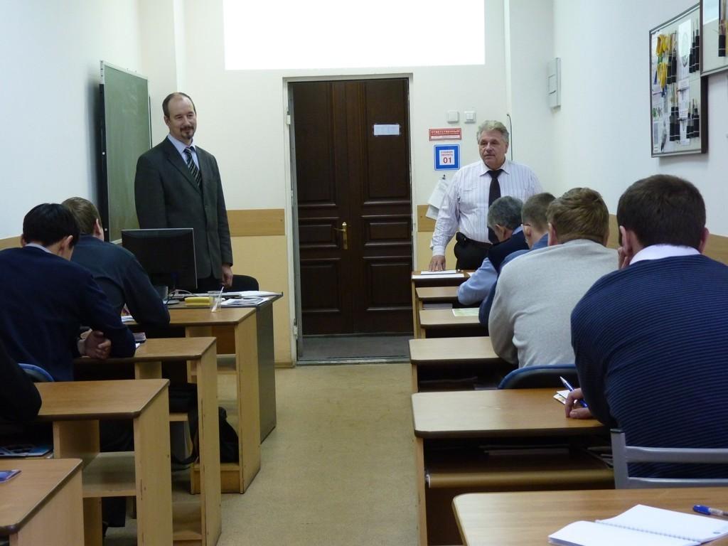18апреля закончились недельные курсы повышения квалификации специалистов Радиочастотного центра Сибирского федерального округа