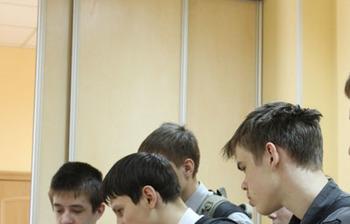 16–17 апреля врамках ежегодной ярмарки дляшкольников «Я – профессионал» инструкторы Академии Cisco ТУСУРа провели мастер-классы покурсу «IT Essentials: аппаратное ипрограммное обеспечение персонального компьютера»