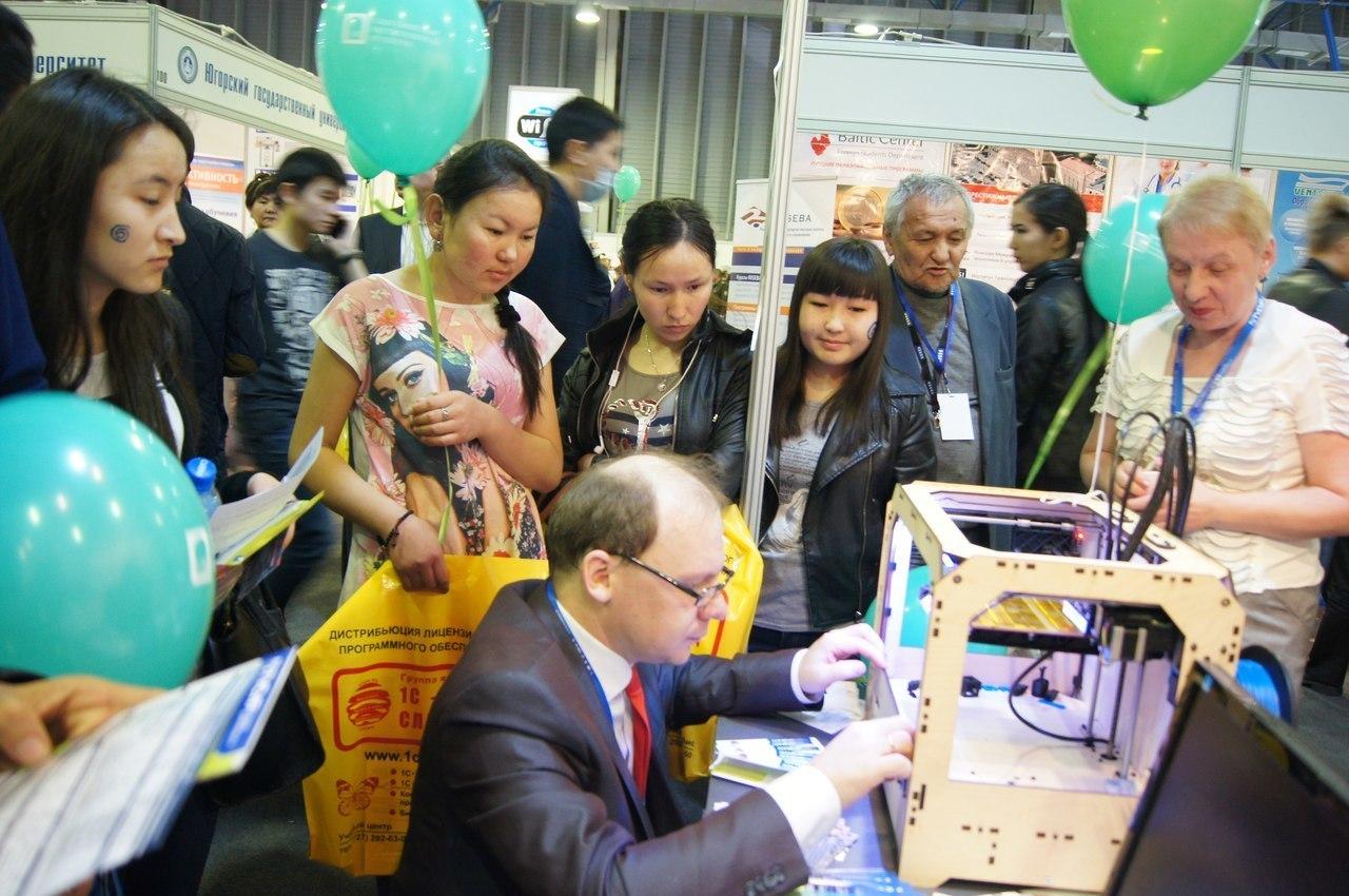 ТУСУР принял участие вXV Казахстанской международной выставке «Образование икарьера»