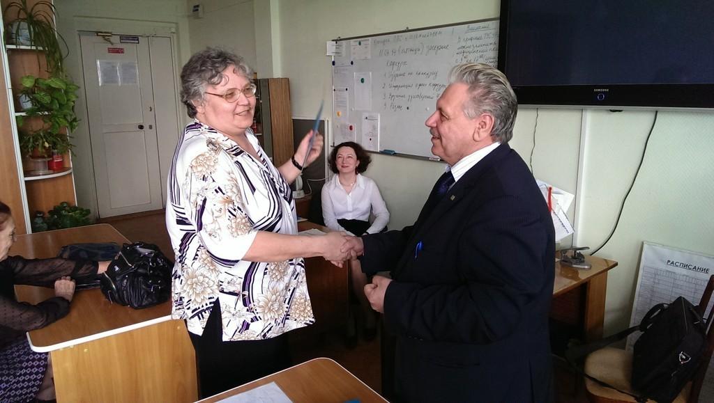 Преподавателям кафедры математики ТУСУРа вручены удостоверения оповышении квалификации