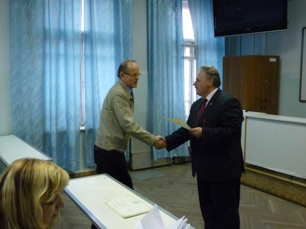 НаФПК ТУСУР состоялось вручение удостоверений оповышении квалификации