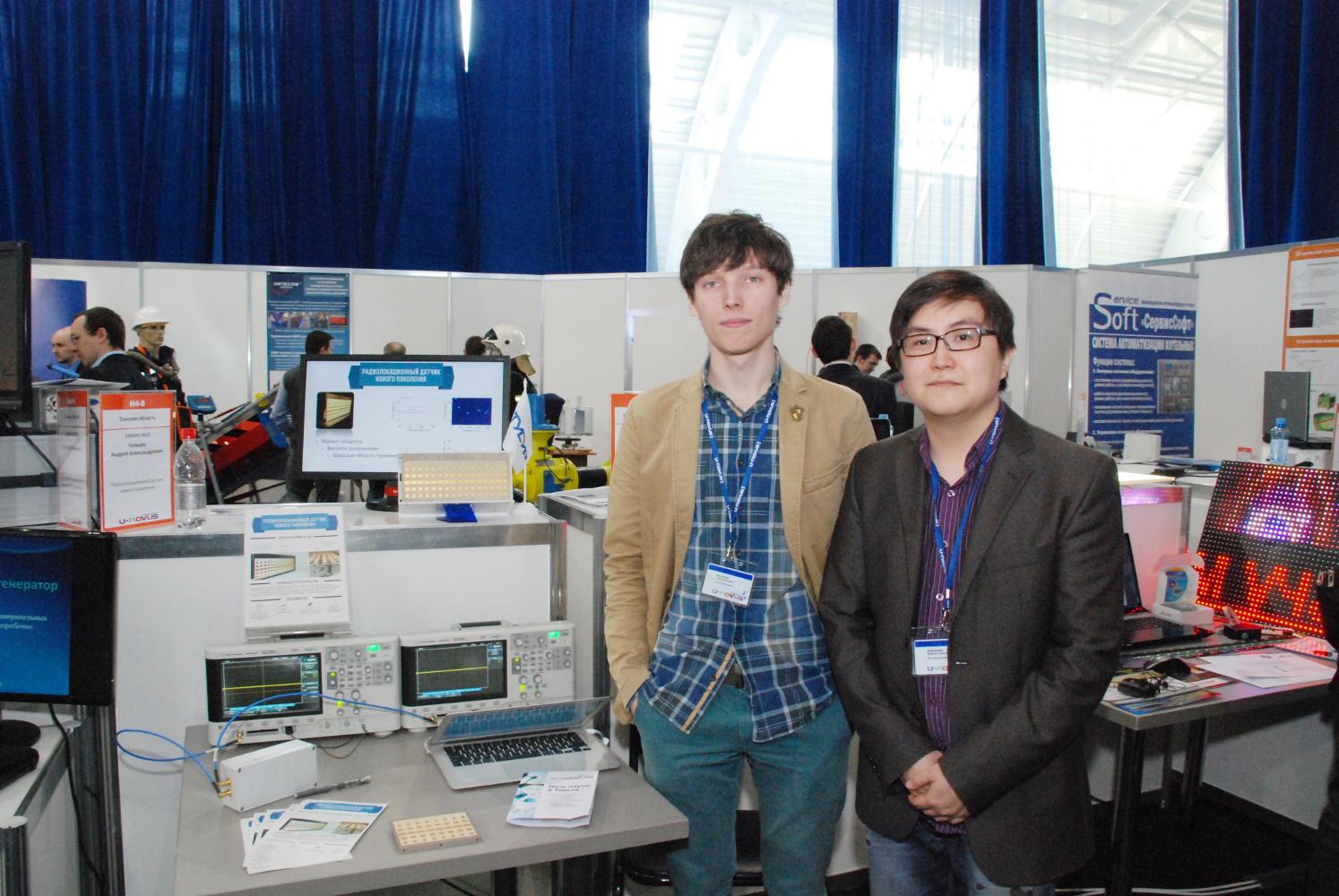 2–3 апреля ТУСУР принял участие ввыставке разработок молодых учёных нафоруме U-NOVUS – 2014