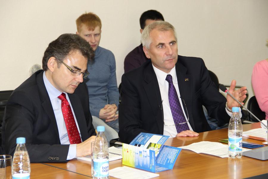 ТУСУР посетил глава представительства Европейского союза вРоссии