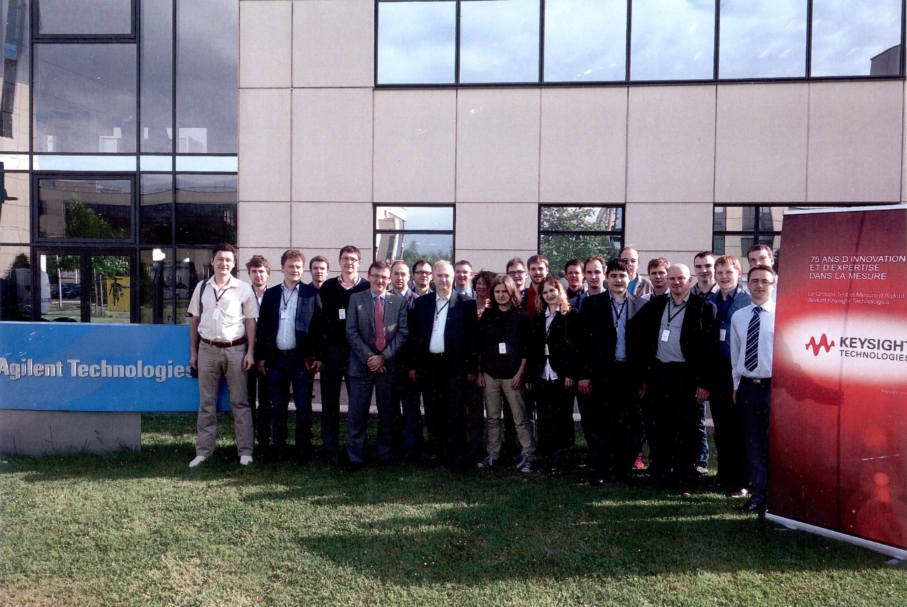 Доцент кафедры СВЧиКР прошёл стажировку вкомпании Agilent Technologies воФранции